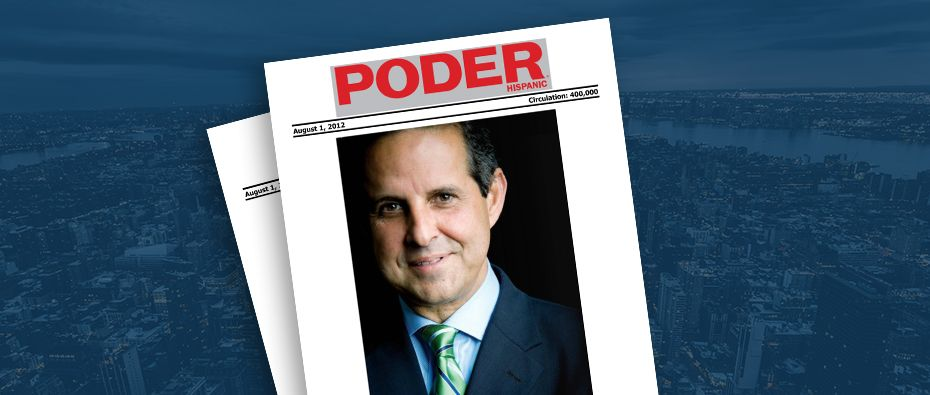 Picture of photo cover of article= Poder. 2012 climate award of the year 08-01-12