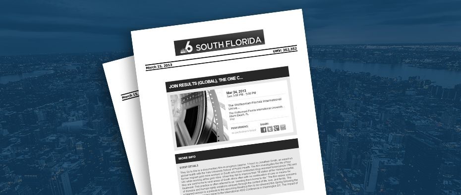 Picture of photo cover of article= NBC6-Free-film-screening-03-15-13