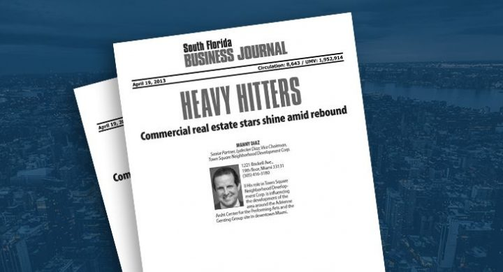 Picture of photo cover of article=South-Fl-Business-Journal-Heavy-Hitters-Commercial-Real-Estate-04-19-13