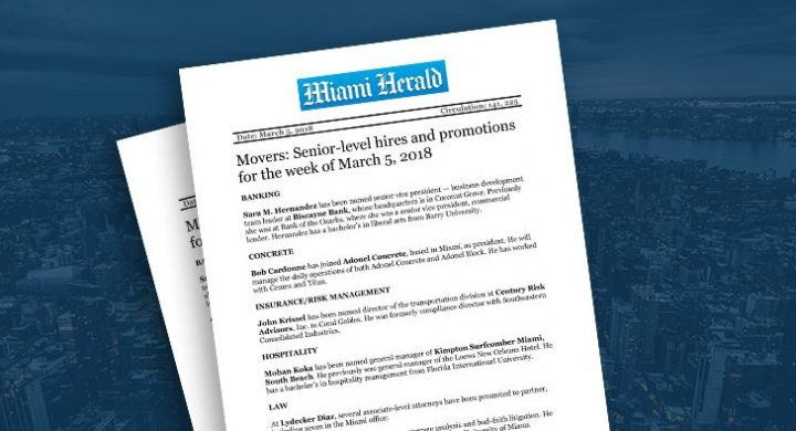 Picture of photo cover of article= Miami Herald movers