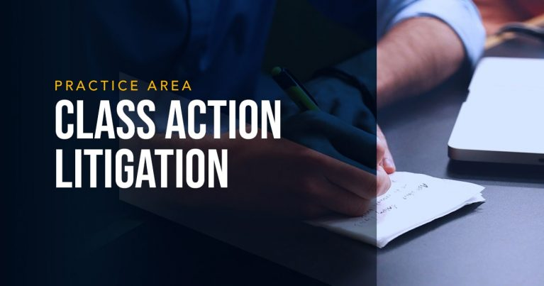 LYDECKER - CLASS ACTION LITIGATION