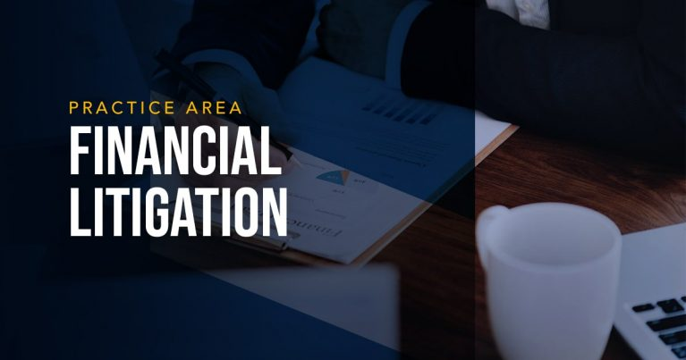 LYDECKER - FINANCIAL LITIGATION