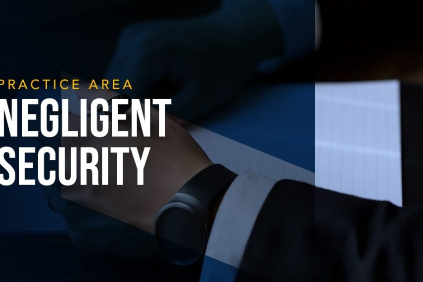 LYDECKER - NEGLIGENT SECURITY