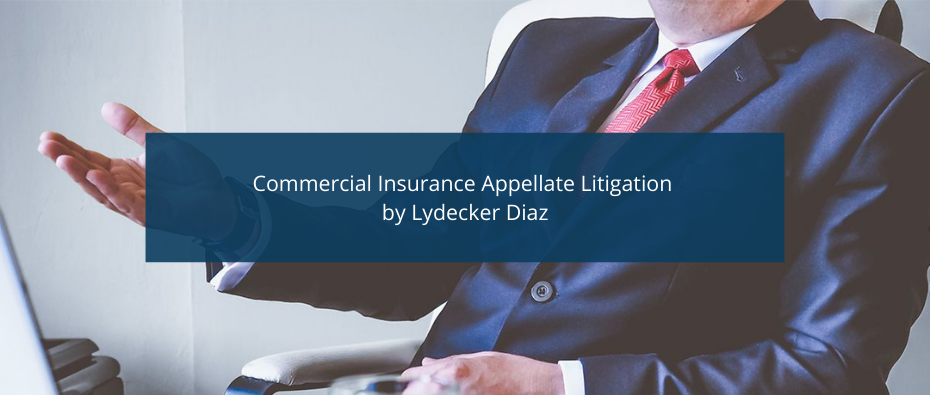 Commercial Insurance Appellate Litigation