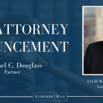 New Attorney Announcement - Michael Douglass